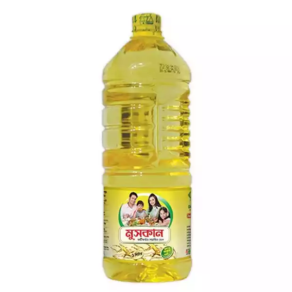 Muskan Soyabean Oil (2 Ltr)