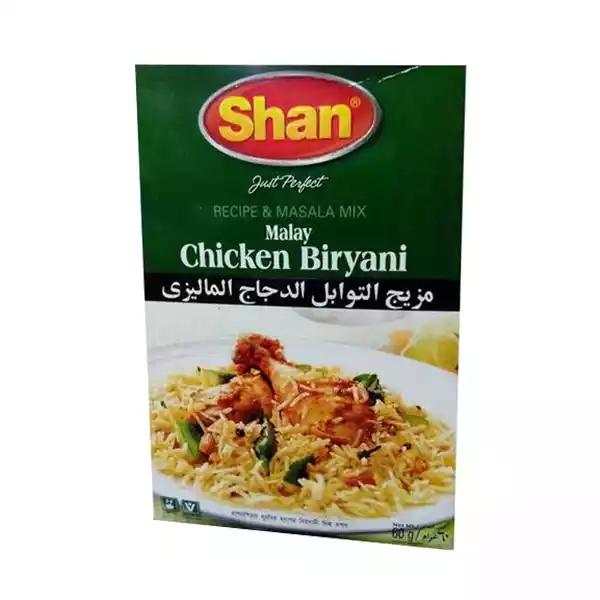 Shan Spice Mix For Malay Chicken Biryani (60 gm)