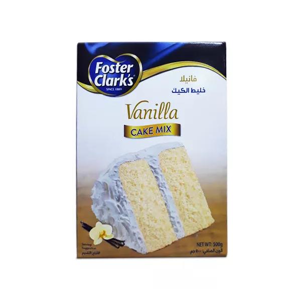 Foster Clark's Cake Mix Pack (Vanilla) - 500 gm