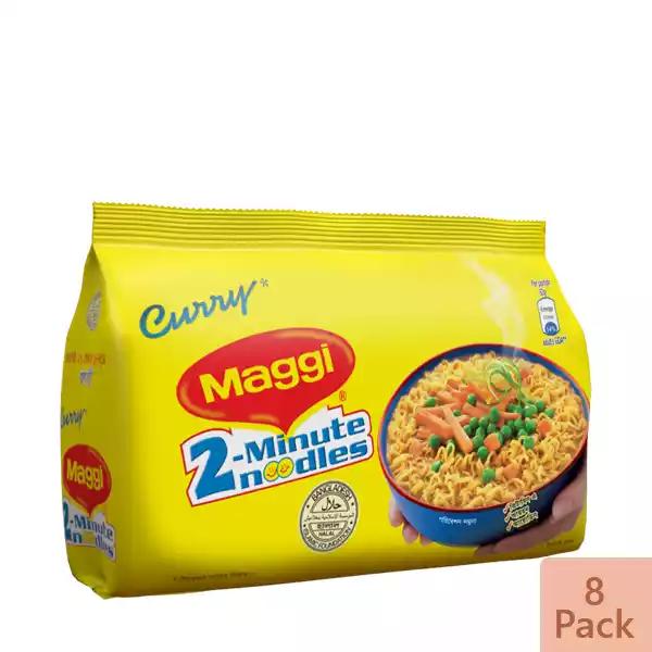 Nestlé MAGGI 2-Minute Noodles Curry 8 Pack