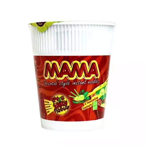 Mama Hot & Spicy Cup Noodles