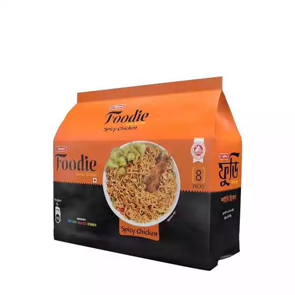 Foodie Spicy Chicken Noodles 8 Pack