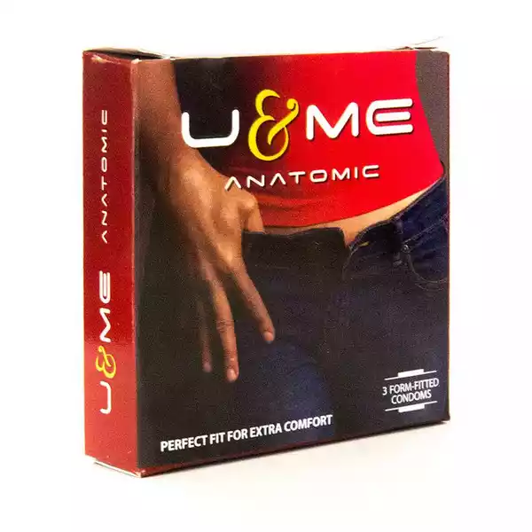 U & ME Anatomic Condoms