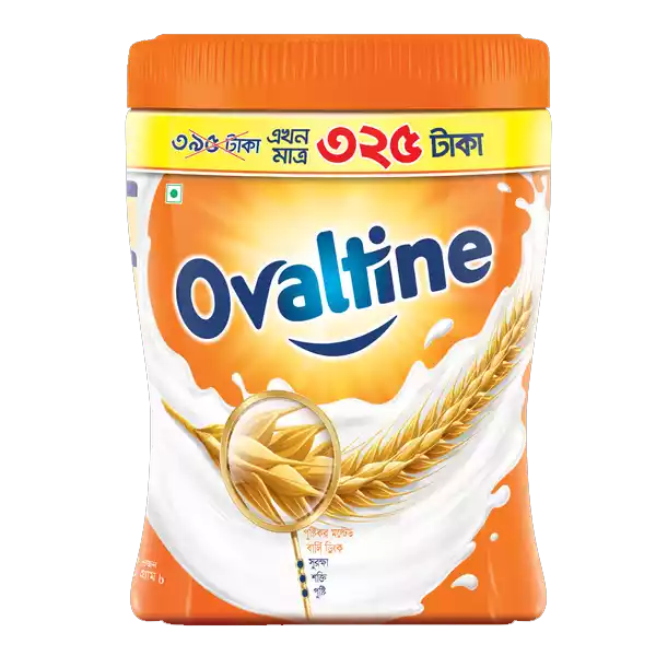 Ovaltine Malted Milk Drink Jar (400 gm)