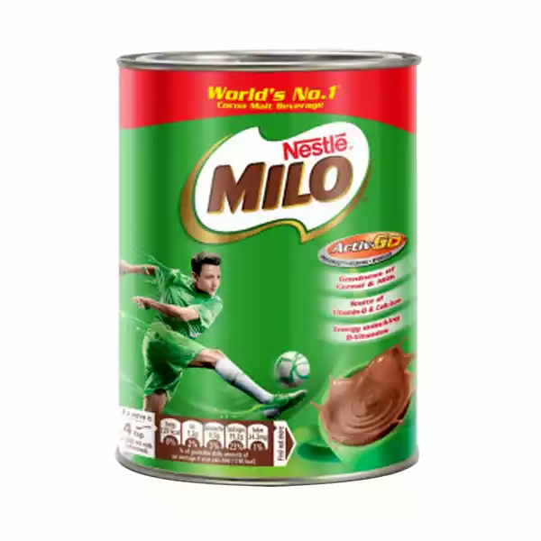 Nestle MILO Activ-Go (Chocolate Flavored) Powder Drink Tin (400 gm)