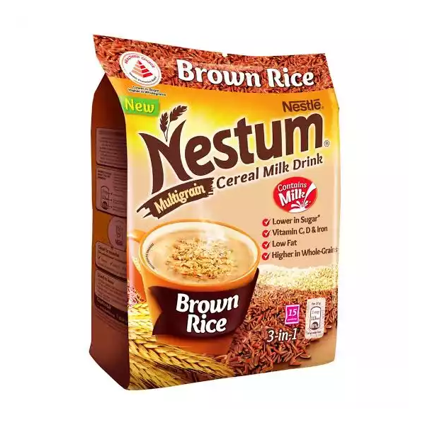 Nestle Nestum Multigrain Brown Rice Ceral Milk Drink (405 gm)