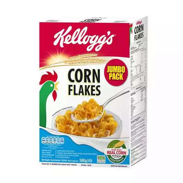 Kellogg's Corn Flakes Jumbo Pack (500 gm)