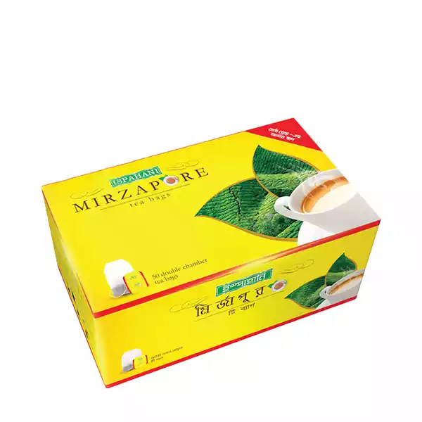 Ispahani Mirzapore Tea Bag (50 CPS)