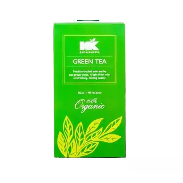 Kazi & Kazi Green Tea 60 gm (40 Pcs)