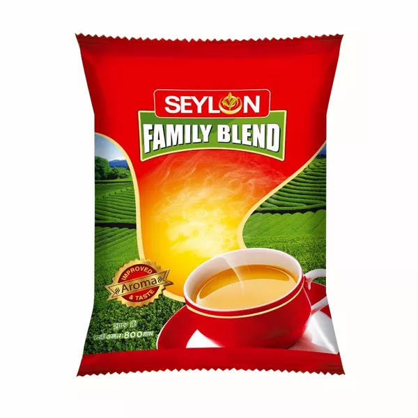 Seylon Family Blend Tea Poly (400 gm)