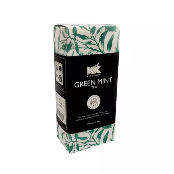 Kazi & Kazi Green Mint Tea 37.5 gm (25 pcs)
