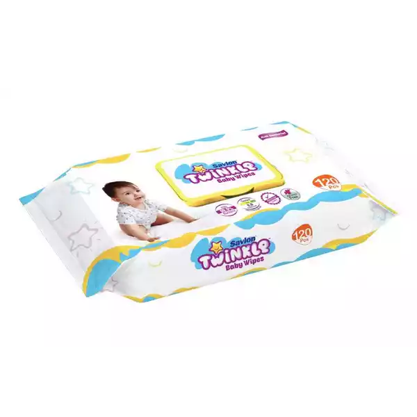 Savlon Twinkle Baby Wipes (120 pcs)
