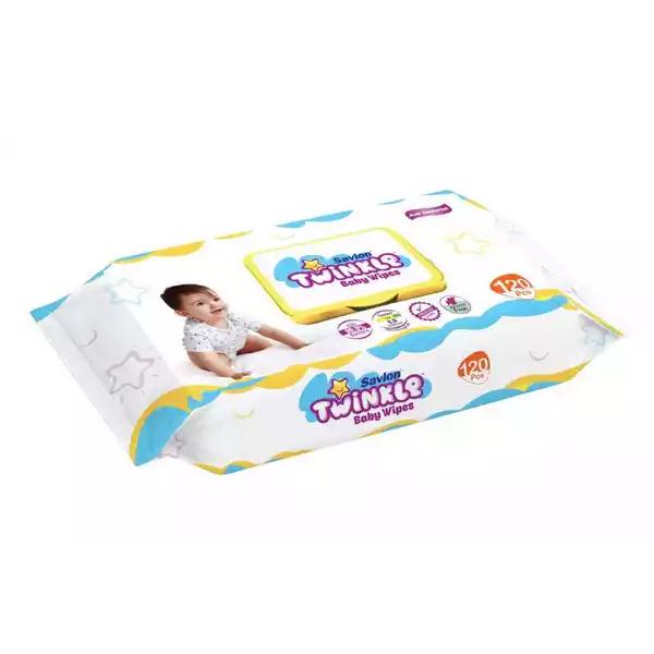 Savlon Twinkle Baby Wipes (120 pcs)