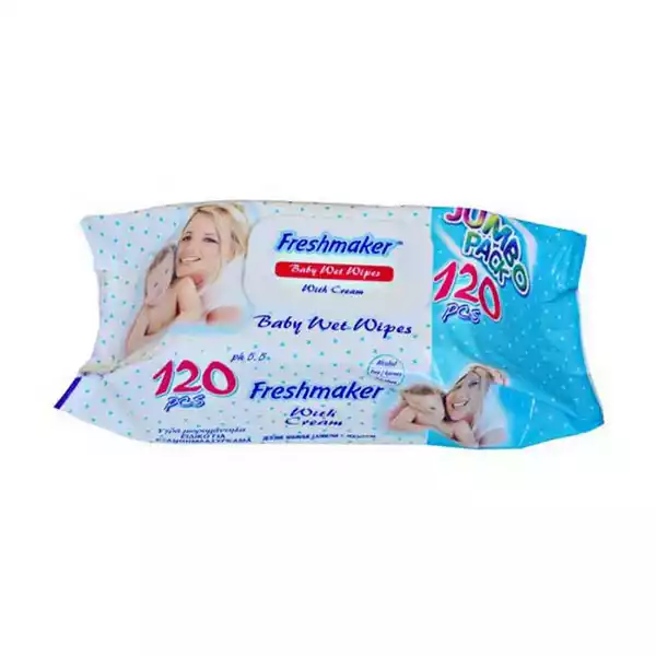 Freshmaker Wet Wipes (120 pcs)