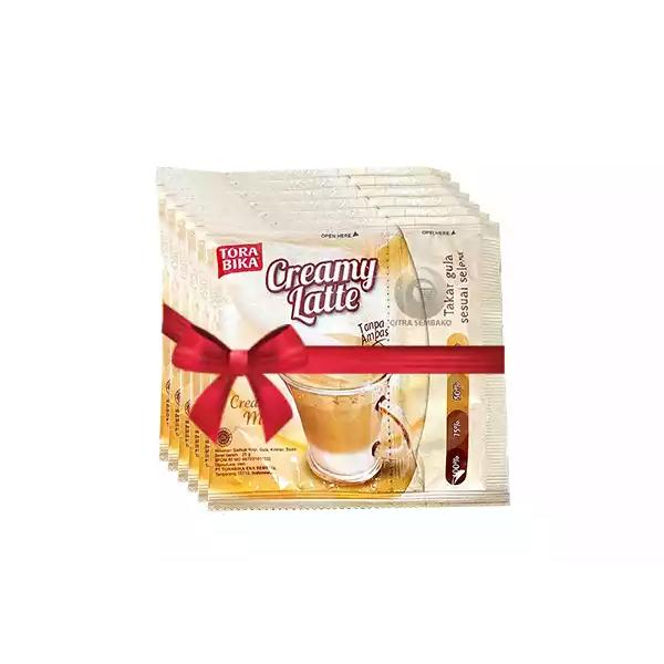 Tora Bika Creamy Latte (25 gm*6)  (6 pcs)