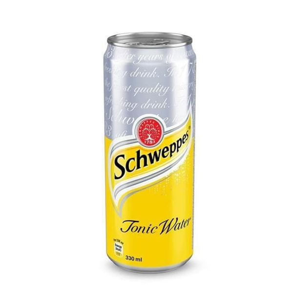 Schweppes Tonic Water Can (320 ml)