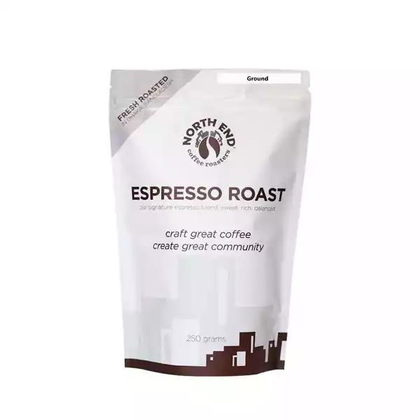 North End Espresso Roast Ground Coffee  (250 gm)