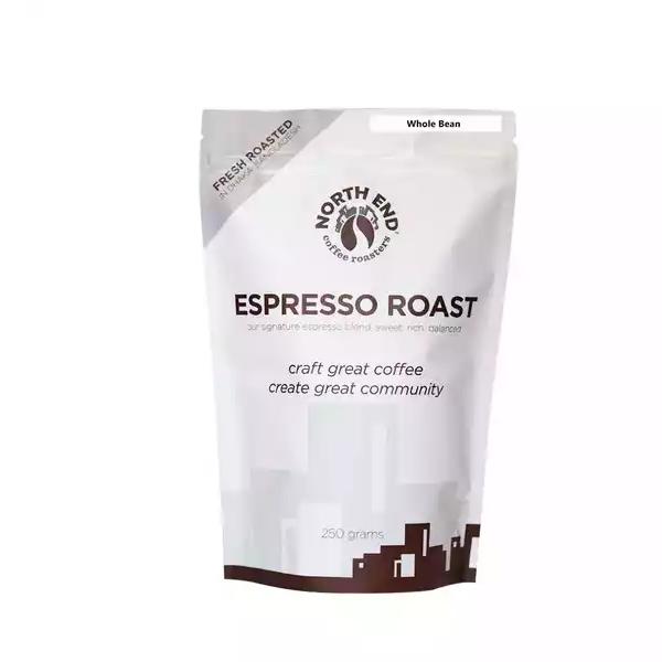 North End Espresso Roast Whole Bean Coffee  (250 gm)