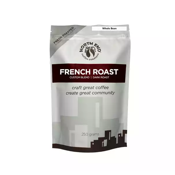 North End French Roast Whole Bean Coffee  (250 gm)