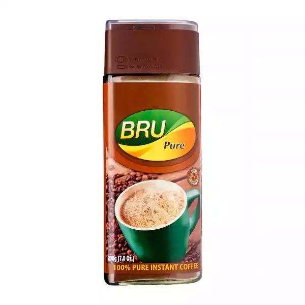 Bru Pure Instant Coffee Jar  (200 gm)