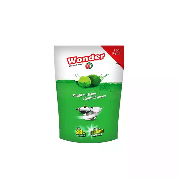 ACI Wonder Anti Bacterial Dish Washing Refill (250 ml)