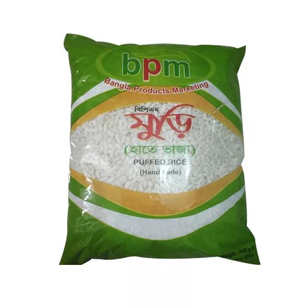 BPM Homemade Puffed Rice  (500 gm)