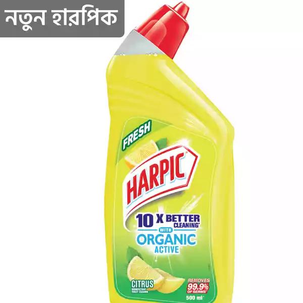 Harpic Toilet Cleaning Liquid Fresh Citrus (500 ml)