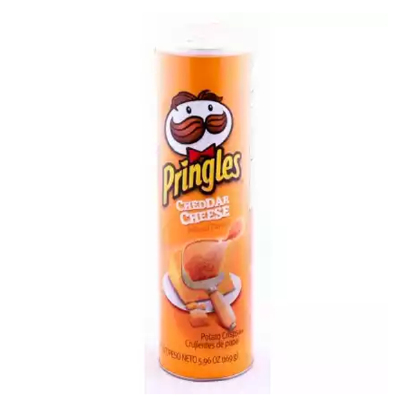 Pringles Cheddar Cheese  (158 gm)