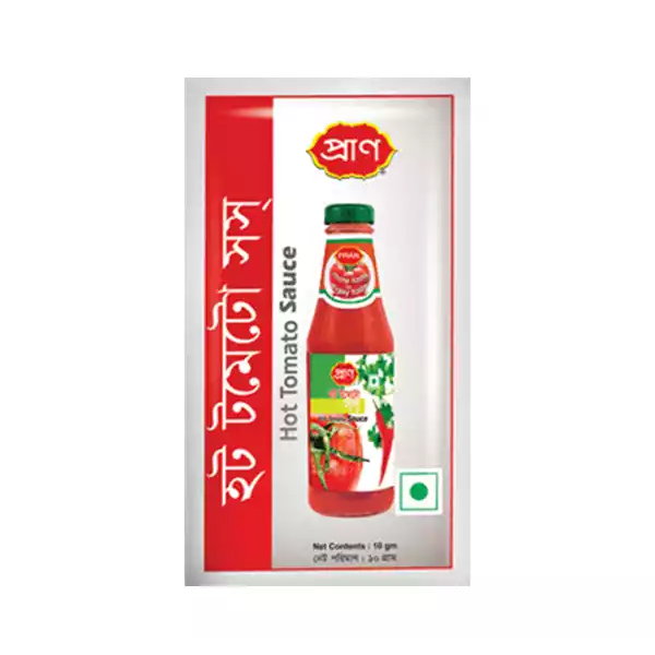 PRAN Hot Tomato Sauce Mini  (10 pcs)