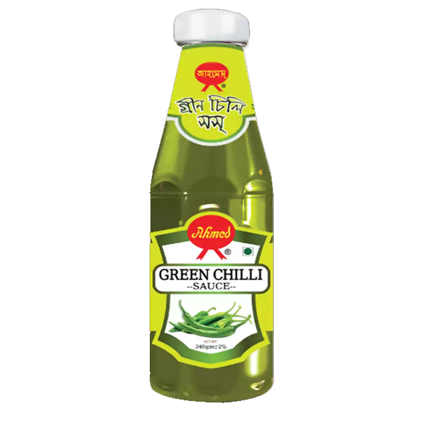 Ahmed Green Chilli Sauce  (340 gm)