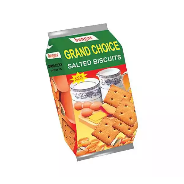 Bangas Grand Choice Salted Biscuit  (100 gm)
