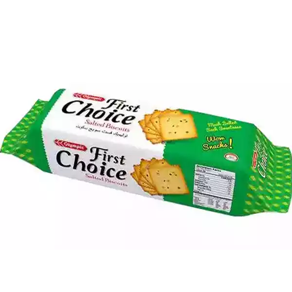 Olympic First Choice Salted Biscuits, (100 gm)