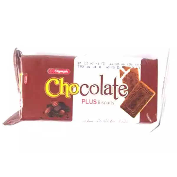 Olympic Chocolate Plus Biscuits  (65 gm)