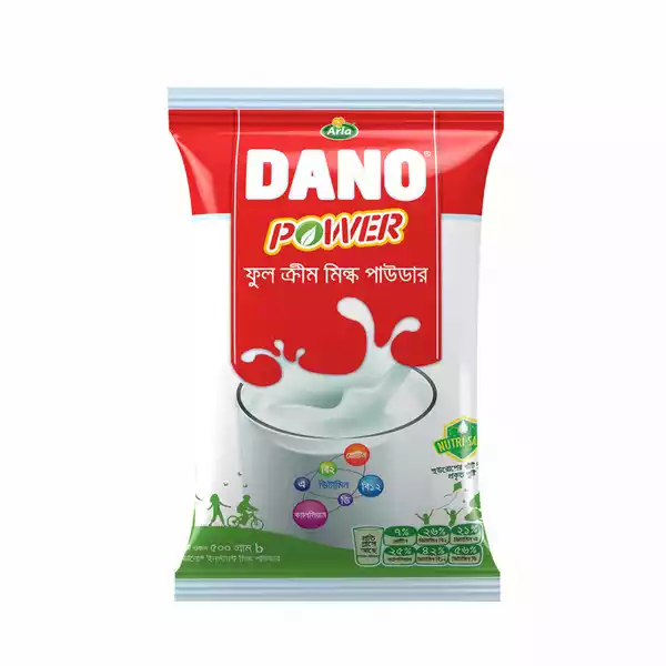 Dano Power Instant Full Cream Milk Powder (500 gm)
