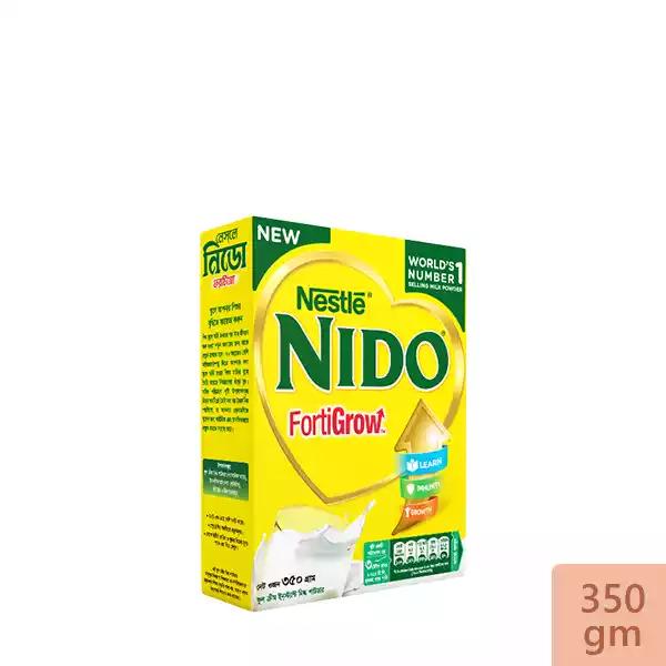 Nestlé NIDO Fortigrow Full Cream Milk Powder BIB (350 gm)