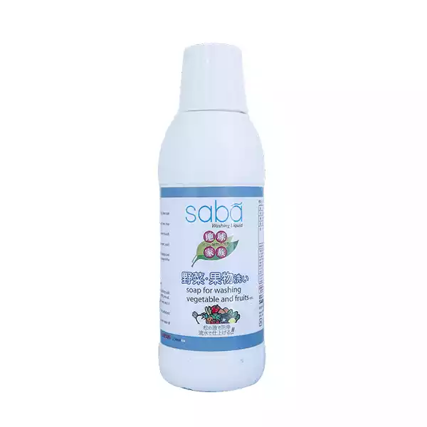 Saba Vegetable Washing Liquid (125 ml)