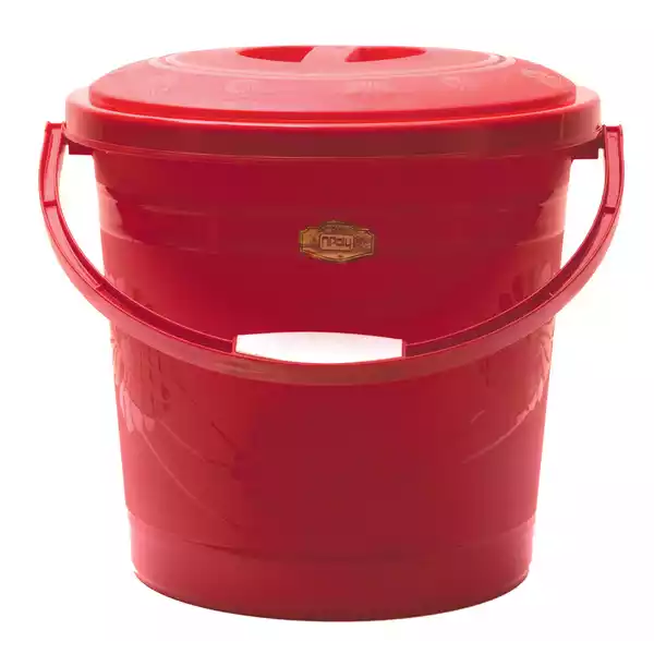 Npoly Design Bucket With Lead (Red)