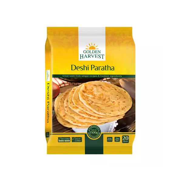 Golden Harvest Frozen Paratha Family Pack  (20 pcs)