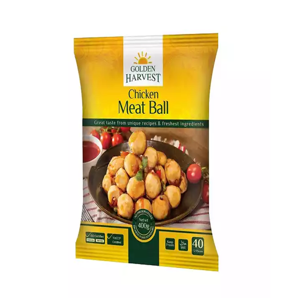 Golden Harvest Frozen Chicken Meat Ball  (400 gm)