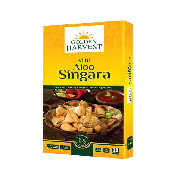 Golden Harvest Mini Aloo Singara 20 pcs  (300 gm)