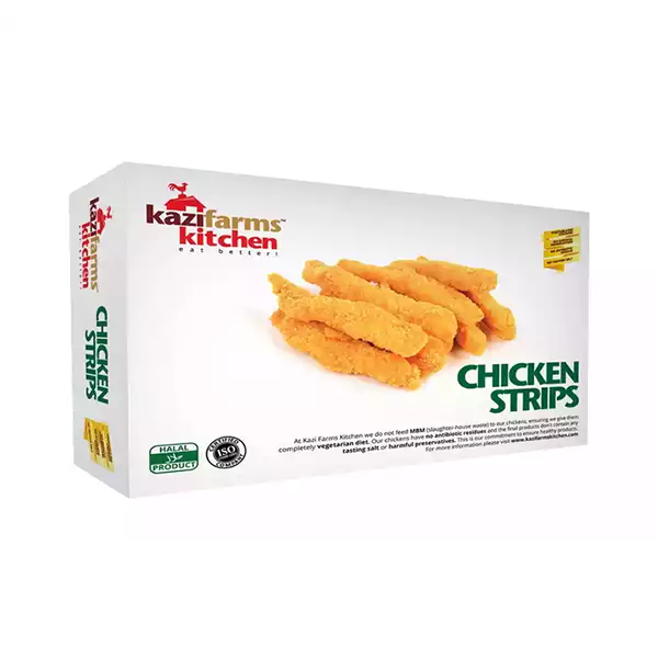 Kazi Farms Kitchen Chicken Strips  (250 gm)