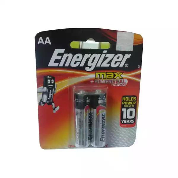 Energizer Max 1.5V AA Battery (2pcs)