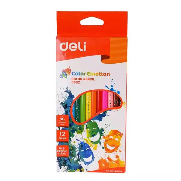 Deli Colour Pencils (C002) (12pcs)
