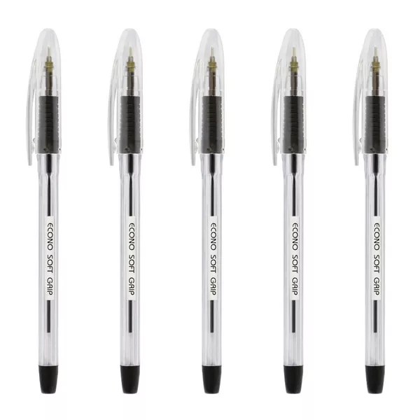 Econo Soft Grip Ball Pen (10pcs)