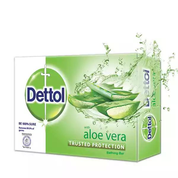 Dettol Soap Aloe Vera Bathing Bar Soap (75 gm)