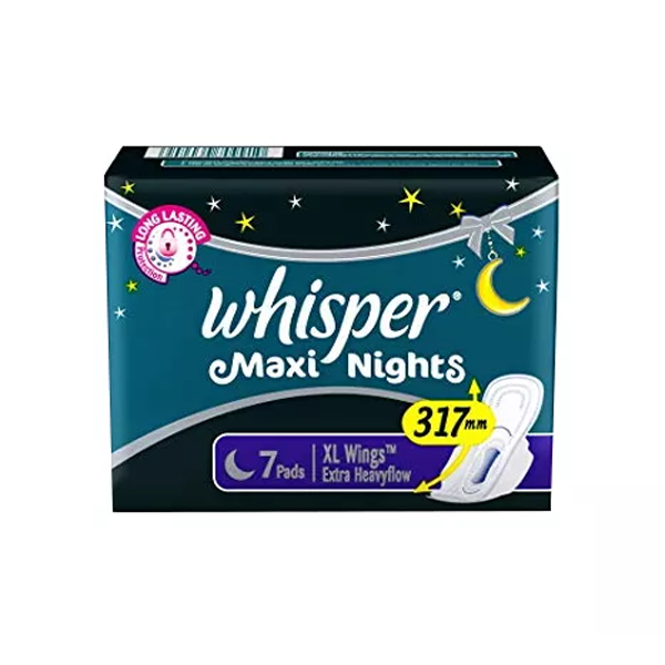 B4 Whisper Maxi Nights XL Wings (7 Pads)