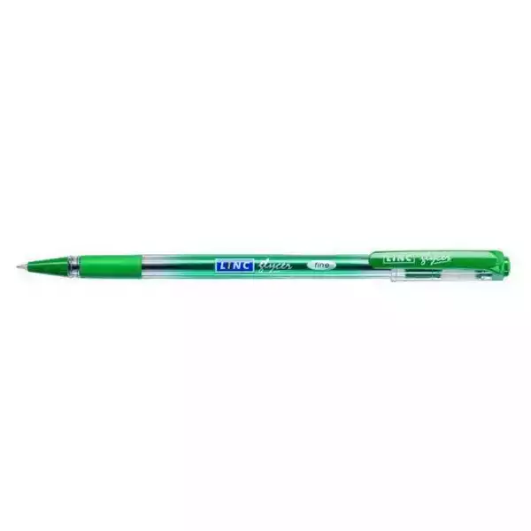 Linc Glycer Ball Pen Green (6pcs)
