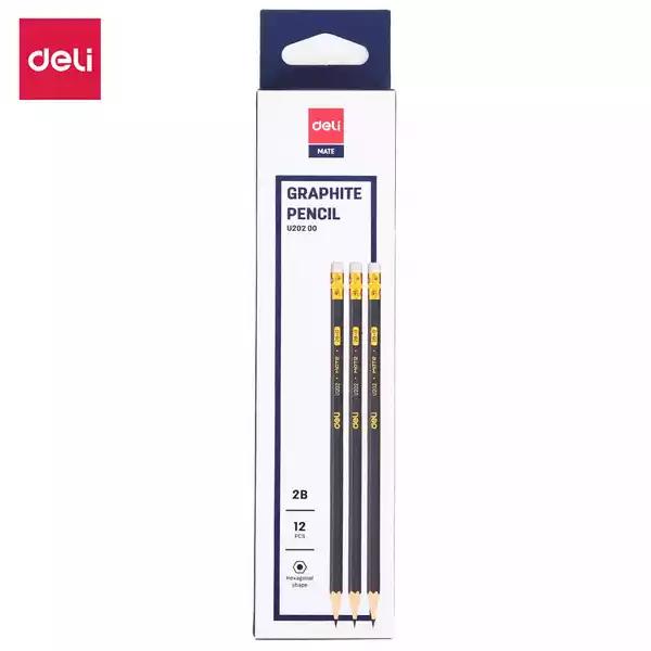 Deli 2B pencil (U20200) (12pcs)