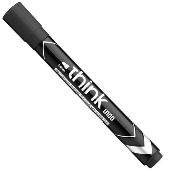 Deli Permanent Marker Black U10020 (1pcs)