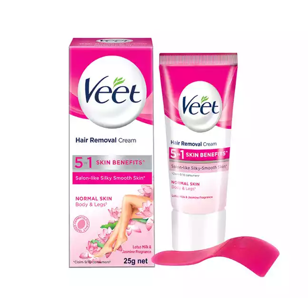 Veet Hair Removal Cream for Normal Skin  (25 gm)